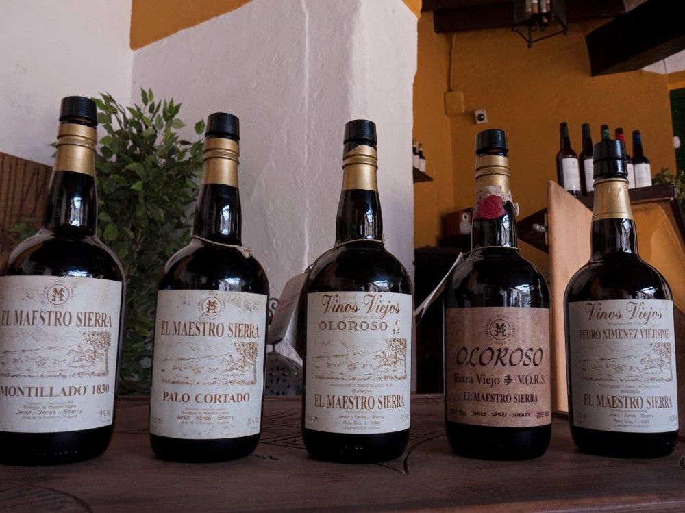 Maestro Sierra botellas VORS